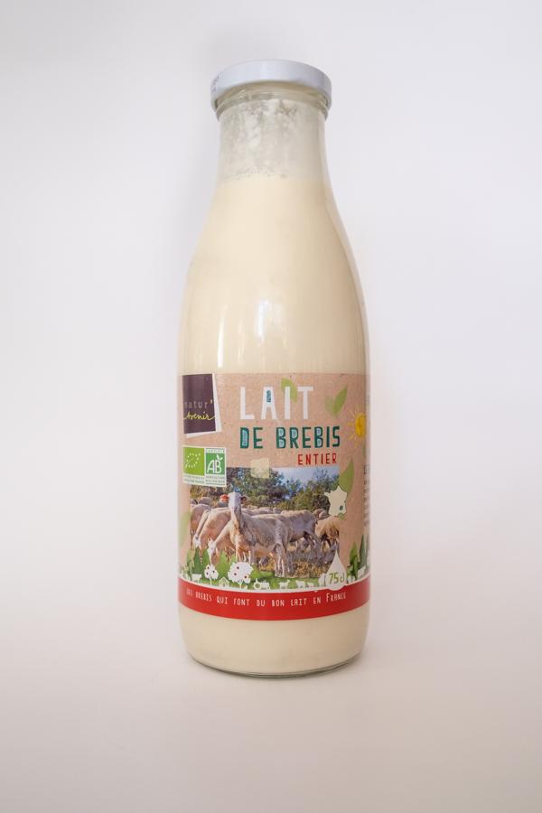 chez la voisine épicerie vrac Nantes Chantenay lait chèvre