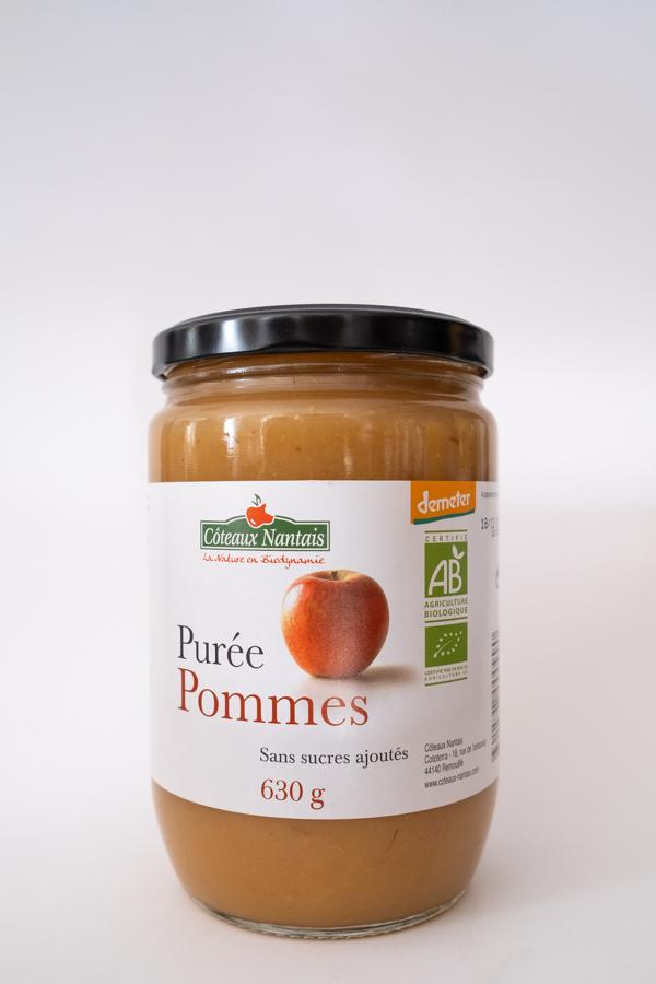 Chez la voisine épicerie vrac Nantes Chantenay purée de pommes