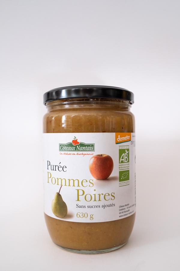 Chez la voisine épicerie vrac Nantes Chantenay purée de poires